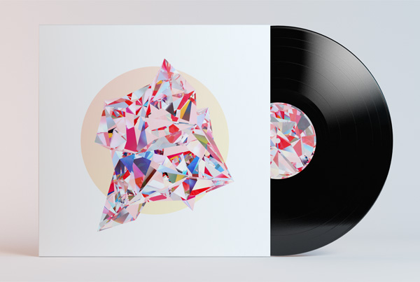 Vinyl Record & Sleeve Art